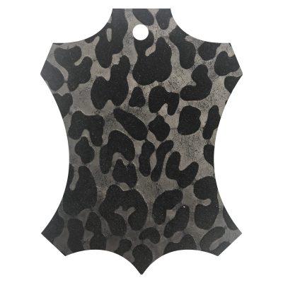 Rilievo leopardato nero